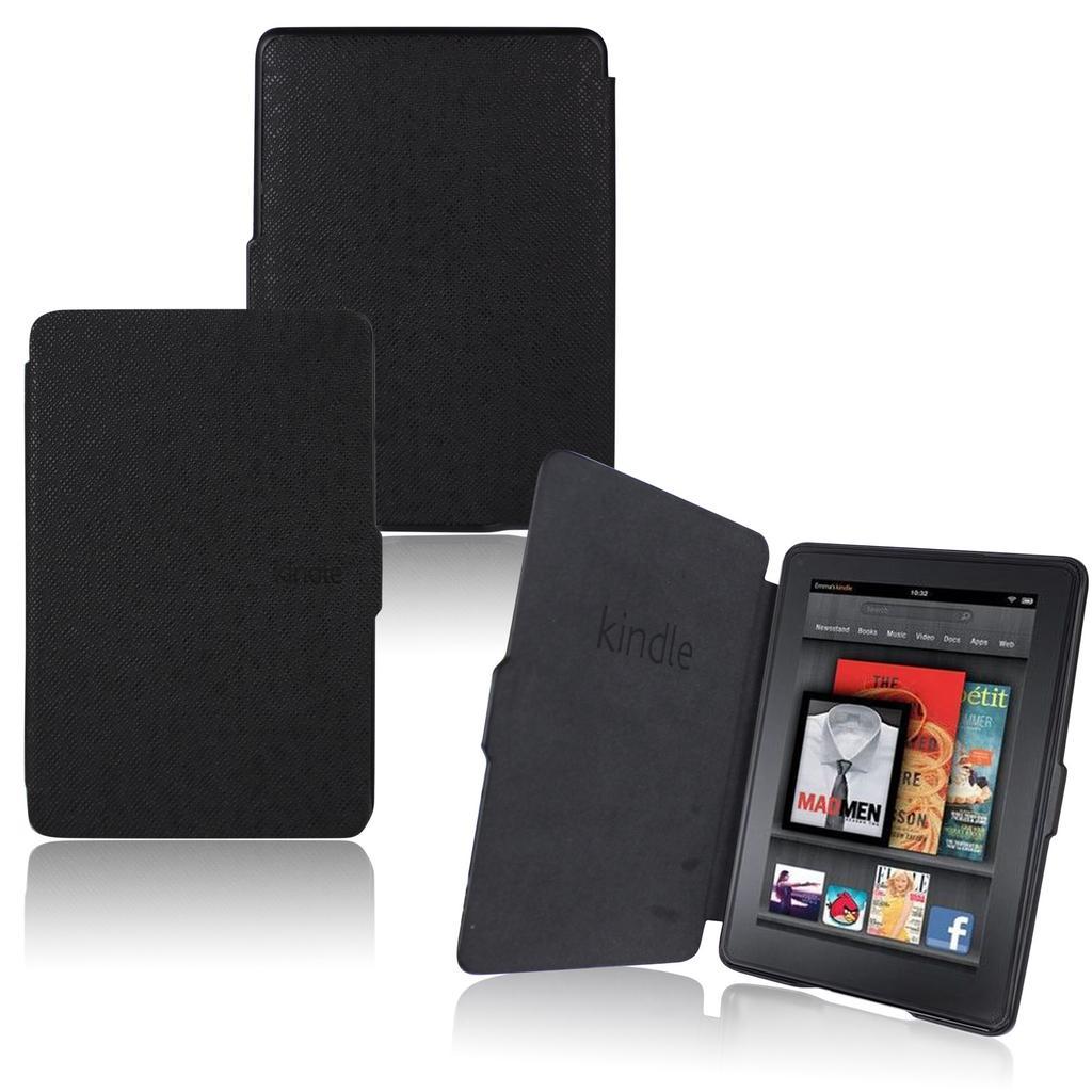 2852914e70e Ultra delgada magnética cuero elegante funda para Kindle Paperwhite ...