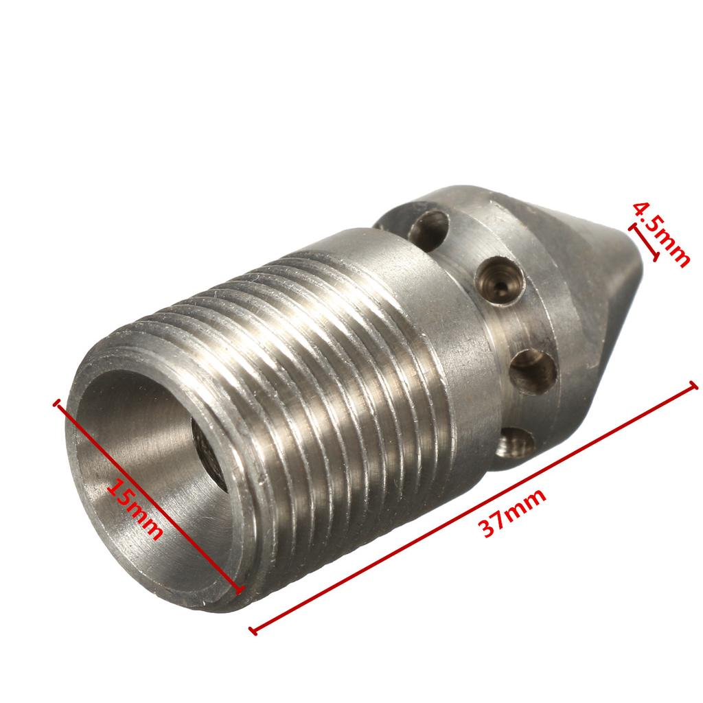 """High Quality Pressure Washer Drain Ram Sewer Rotary Cleaning Nozzle 9 Jet 3//8/"""""""