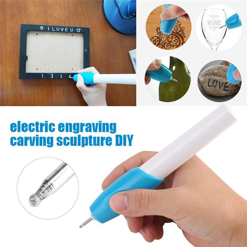 Portable Size DIY Tools Carve Electric Mini Grinder Engraving Machine Engraving Pen Glass Metal Jewelry
