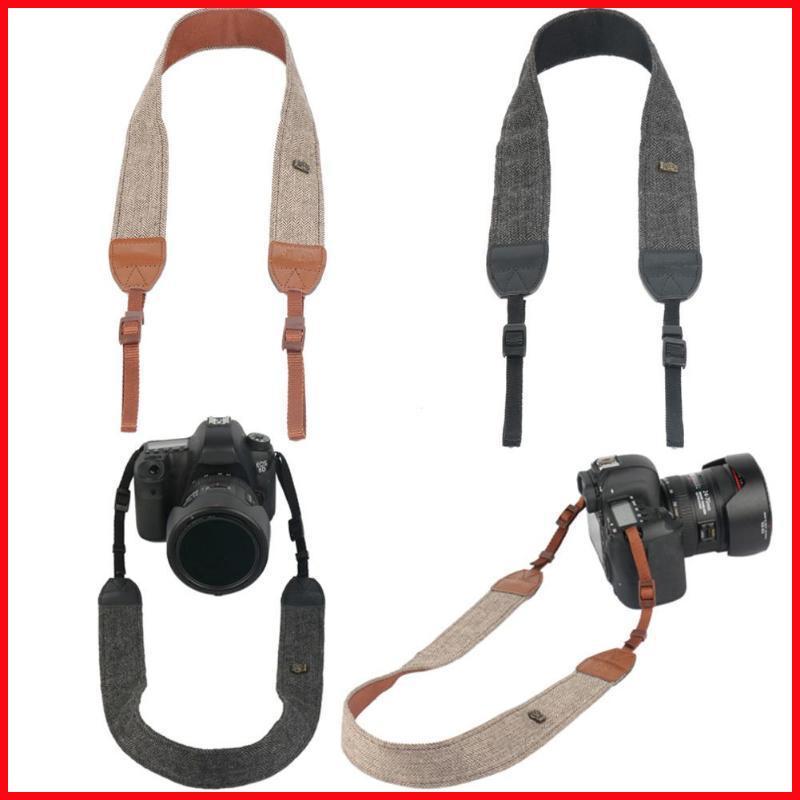 Camera Shoulder Neck Vintage Strap Belt for Sony Nikon Canon Olympus DSLR