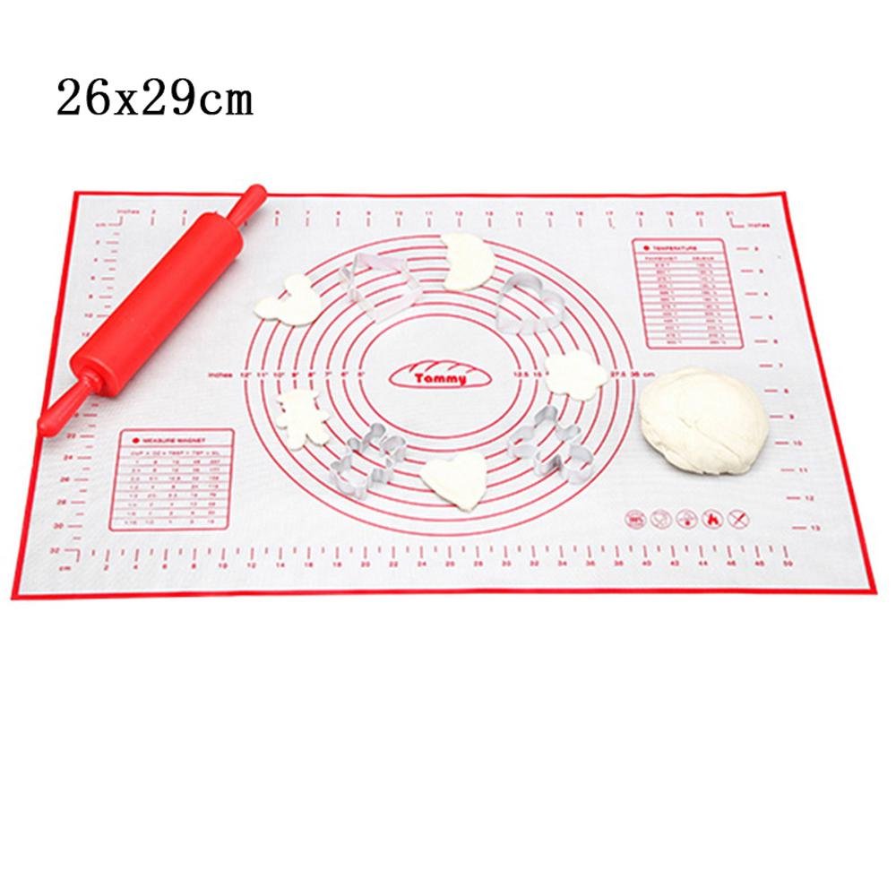 Silicone Baking Mat With Scale Rolling Dough Kneading Non Stick Pastry Pad Buy From 4 On Joom E Commerce Platform