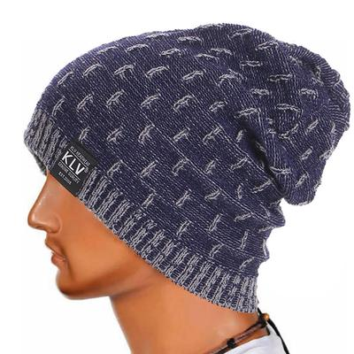 Männer Frauen Warm Häkeln Winter Wolle Stricken Ski Mütze Skull