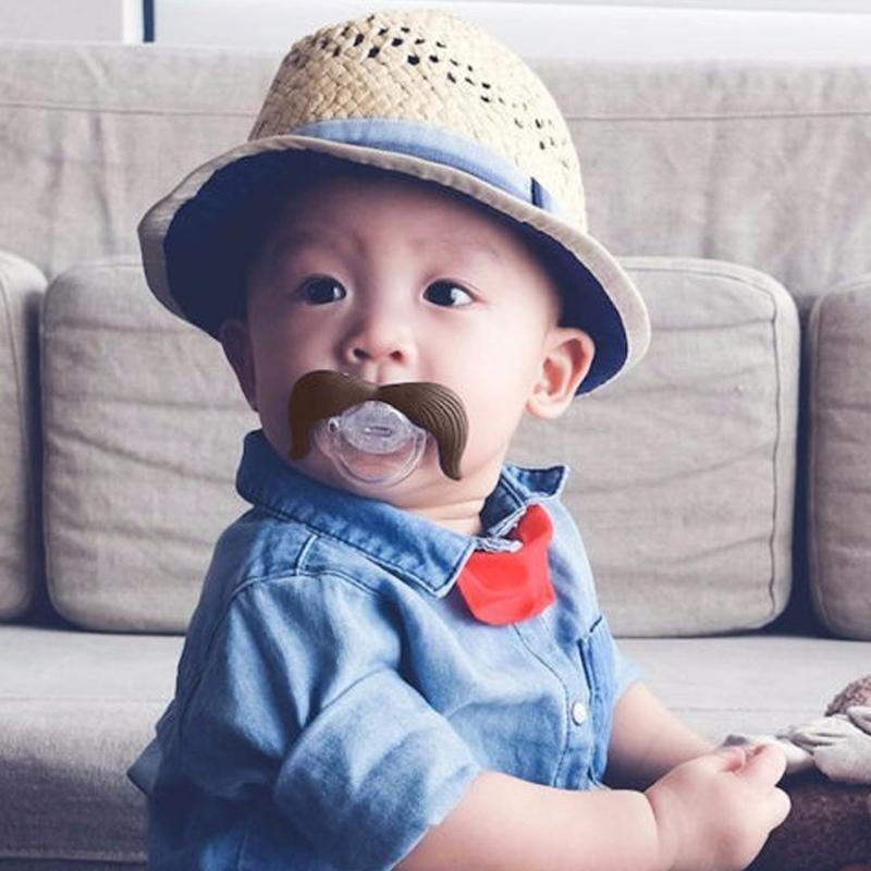Забавные силиконовые соски-пустышки для малышей фото