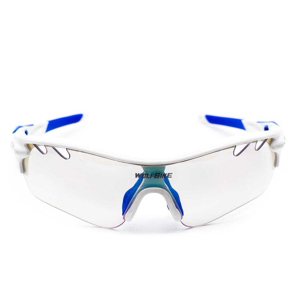Cycling Glasses 5 Lens Polarized Riding Climbing Fishing Google Anti-UV HD Image