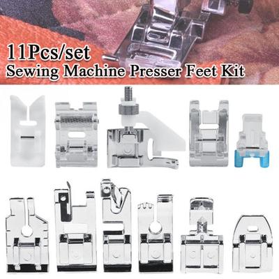 11pcs Multifunctional Presser Foot Kit For Home Sewing Machine Equipment Parts