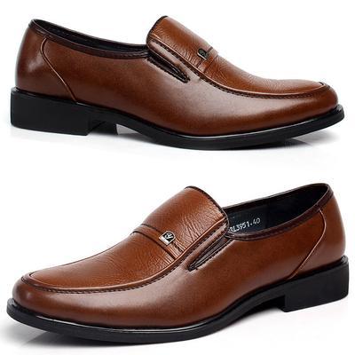 CW Men Flats Shoes Business Men Leather