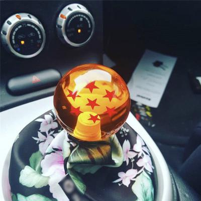 5 Speed Car Manual//Automatic Interior Gear Stick Shifter Lever Knob Color : Red Shift Knob