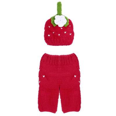 Bebé recién nacido chicas chicos Crochet Knit traje foto fotografía Prop   3 978a3d969231