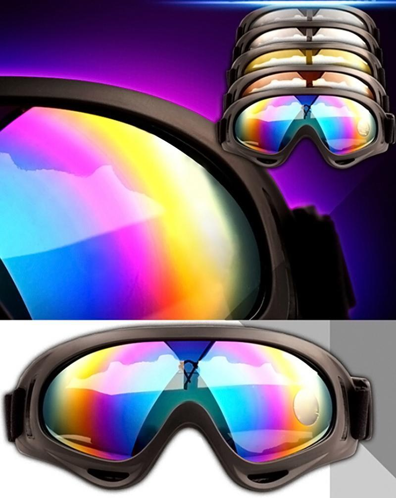 0a6ce0804f Motorcycle Cycling Bike ATV Motocross Ski Snowboard Off-road Goggles FITS  OVER RX GLASSES Eye Lens-buy at a low prices on Joom e-commerce platform