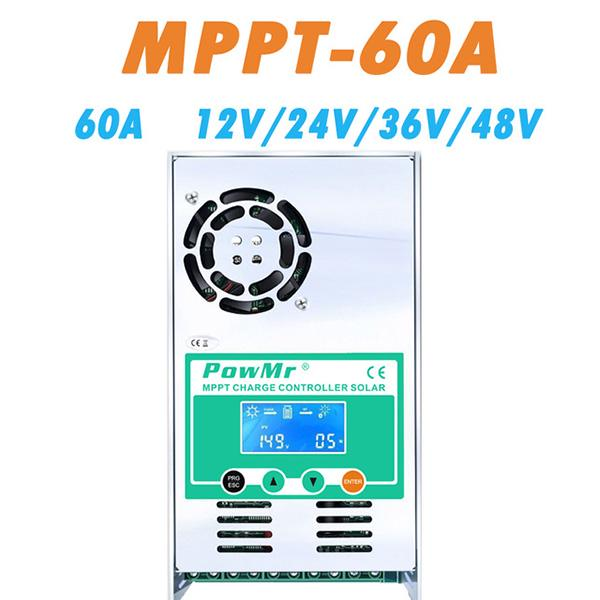 Powmr Mppt 60a Solar Charge And Discharge Controller 12v 24v 36v 48v Auto For Max 190vdc Pv Input Buy At A Low Prices On Joom E Commerce Platform Powmr 60a 80a mppt solar panel laderegler solarregler solar controller 12v 24v auto switch de stock. powmr mppt 60a solar charge and discharge controller 12v 24v 36v 48v auto for max 190vdc pv input