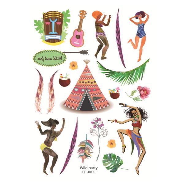 Cute Cartoon Bear Pattern Sticker Decor Album Diary Notebook Phone Sticker LC