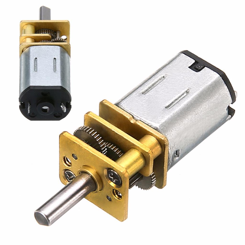 60RPM 6V 0.3A High Torque Mini Electric DC Geared Motor for Robot LW