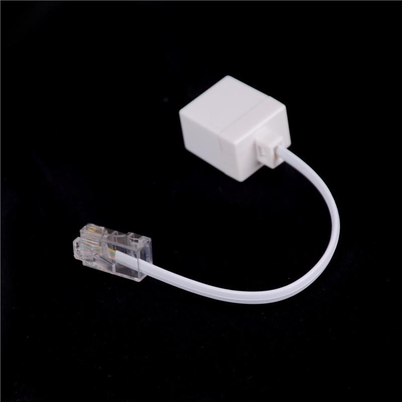 RJ11 6P4C Female To Ethernet RJ45 8P8C Male F//M Adapter Converter Phone Cable