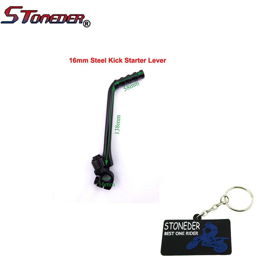 STONEDER Throttle Cable Hand Grips For Thumpstar YCF SSR 50 90 110 125 cc Pit Dirt Bike