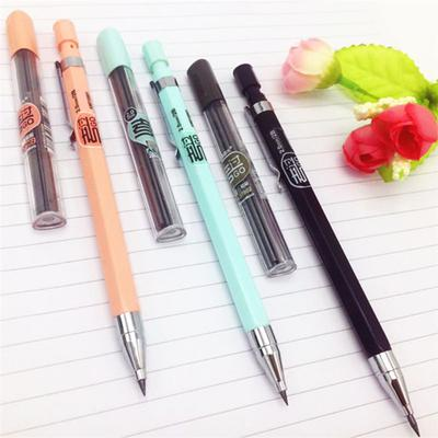 School Supplies Stationery Mechanical Pencil Candy Color Automatic Writing Tool