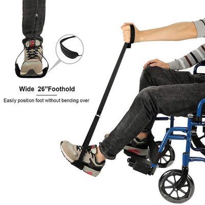 нога ноги лифтер ремешок модернизированная жесткая фут петля замена инвалидной коляске старые люди