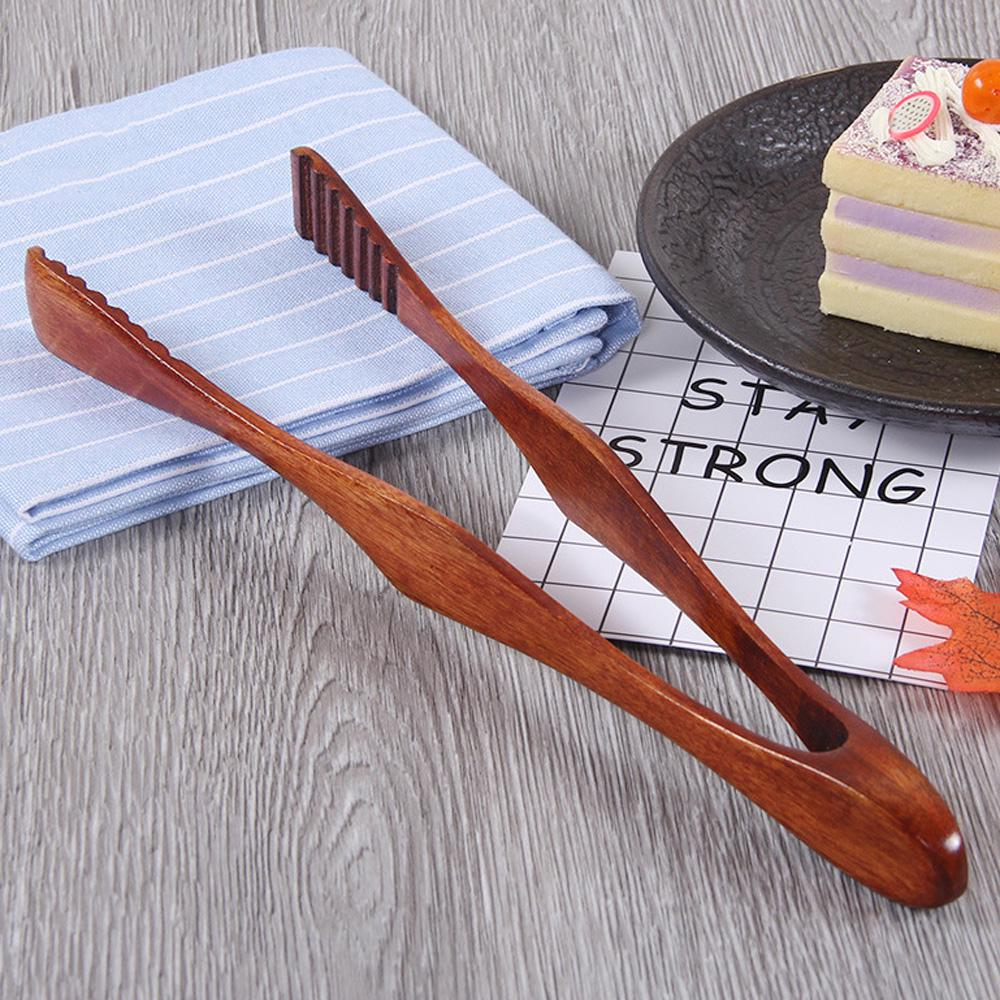 Kitchen Food Thongs Bread BBQ Grill Steak Bacon Salad Clip Cooking Serving Clamp