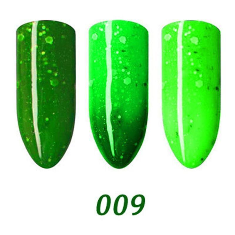 Cambio Color degradado uñas aceite medio ambiente protección de la ...