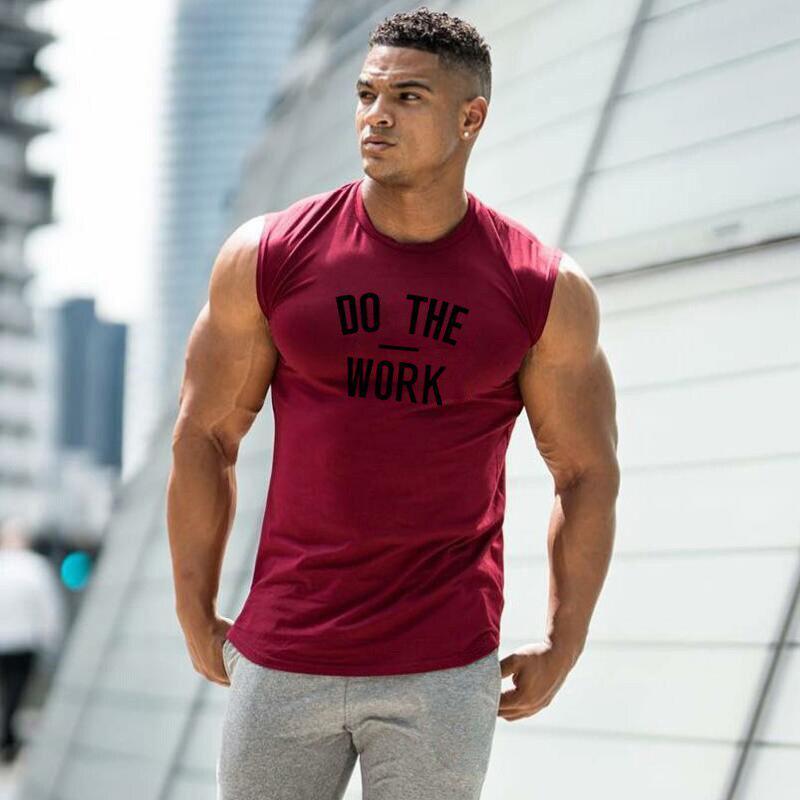 Vest Stringer Men Bodybuilding Hot Fitness Training Tank top Undershirt