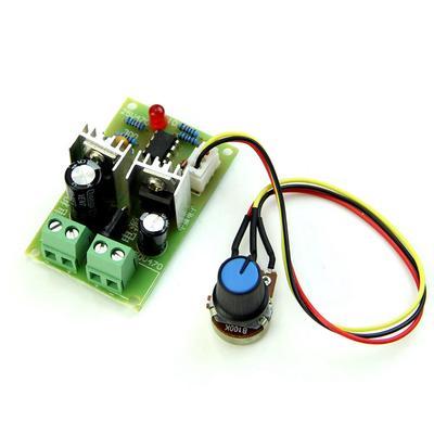 10A 12 V 40 V DC Motor Drehzahlregler 400 Watt Power PWM Regler Gouverneur