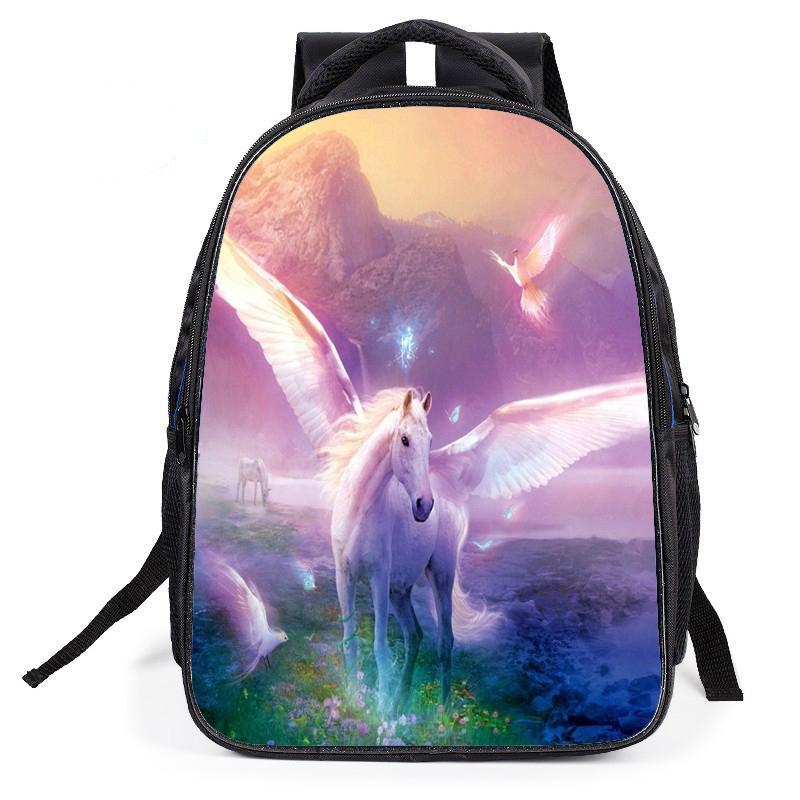 c13569d2e9200 Çizgi film baskı okul çocuk çocuk azaltarak omuz çantası çapraz sırt ...