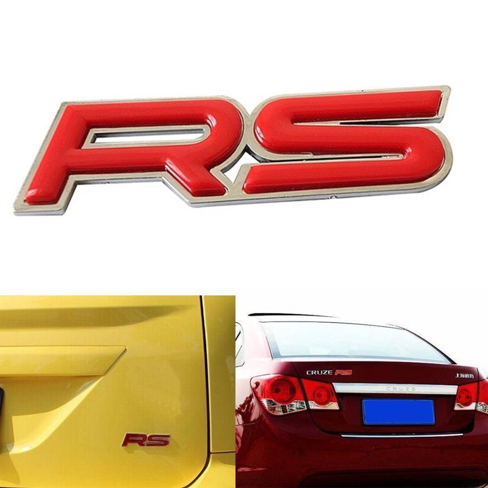 Auto Kit Cool 3D RS Metall Auto Emblem 9,5 * 2,5 cm – zu den ...