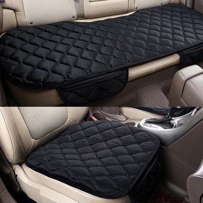 EF 3PCS Set Car Cushion Front Back Seat Covers Auto Vehicles Chair Pad