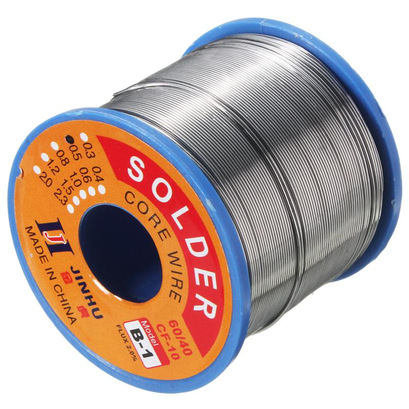 100 gms 60//40 Tin//Lead Flux 2.0/% 3mm rosin flux solder wire Roll