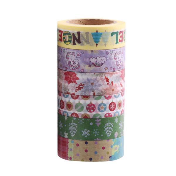 Tencuiala Decorativa Sticky.Bandă Adezivă Pentru Tencuială Decorativă Washi 6pcs Set Drăguţ