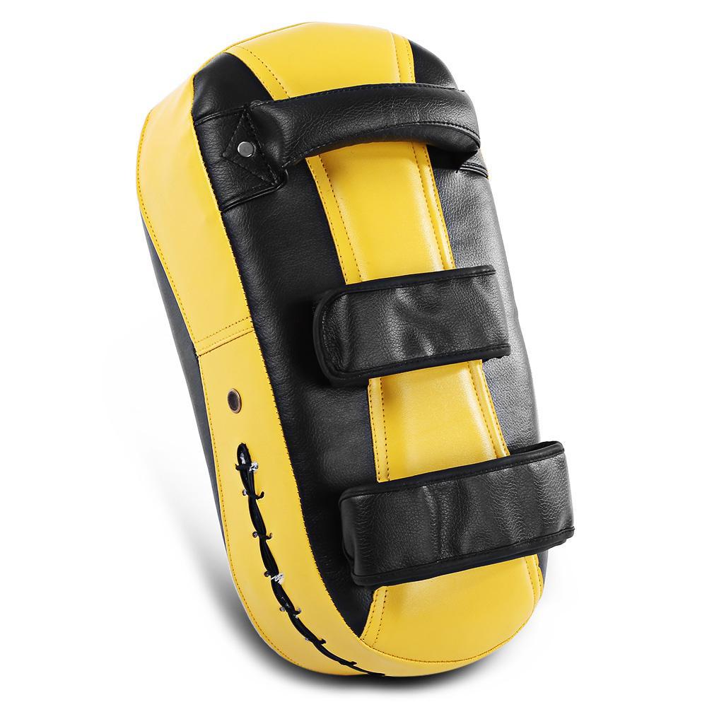 Square Boxing Pad Punching Bag Karate Sparring Thai Training Foot Target Gear