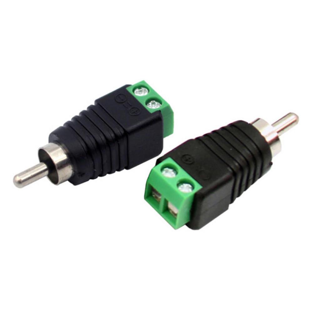 10 x Lautsprecherkabel Phono-Kabel, Audio männlichen Cinch Adapter ...