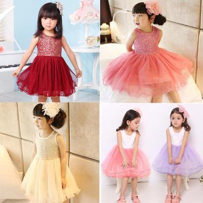 5807d9a25ec Одежда летняя детей девочка одежда казуальные игры Школа платье для девочки  пачка платье дети девушка партии