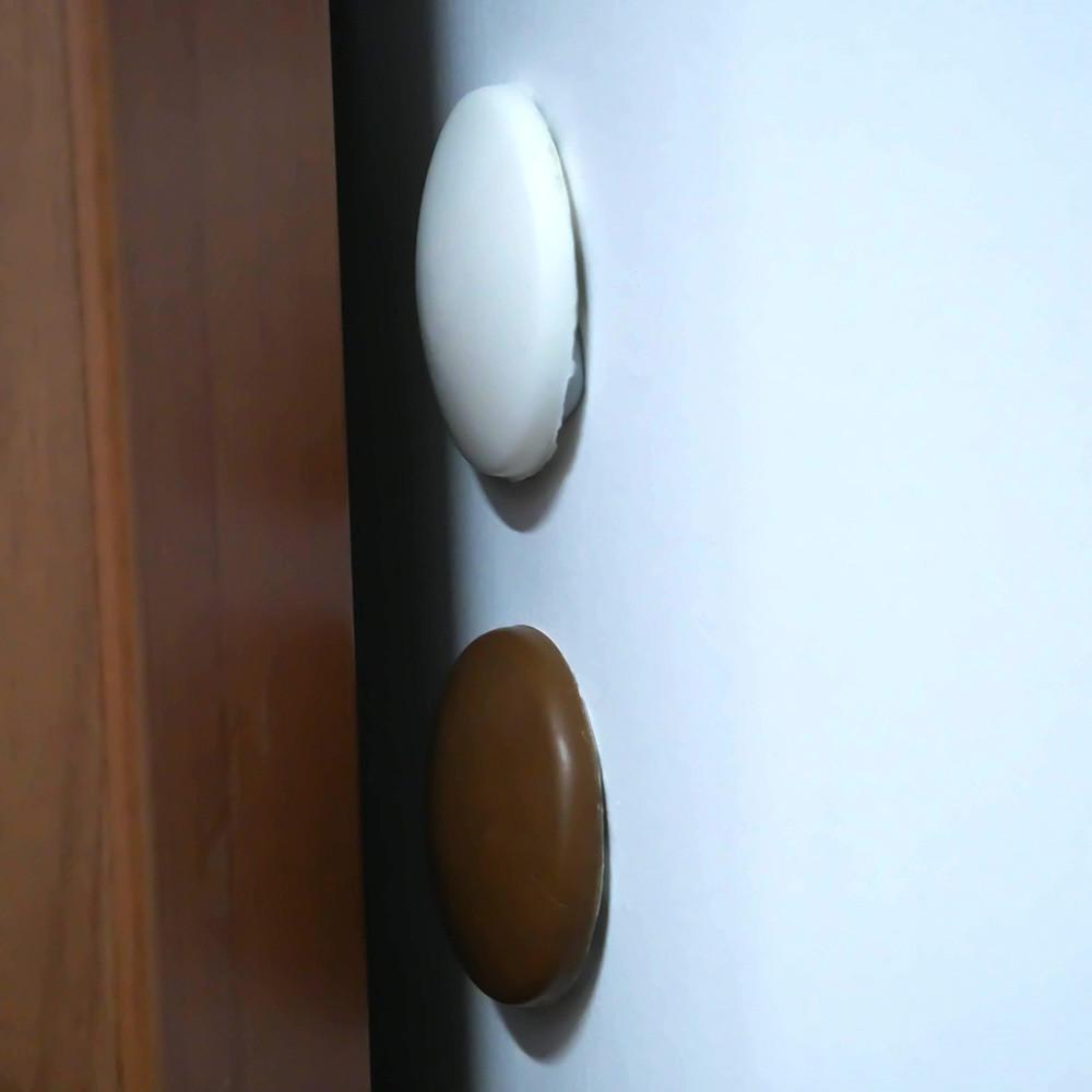 5 x Wall Protector Self Adhesive Rubber Stop Door Handle Bumper Guard Stopper