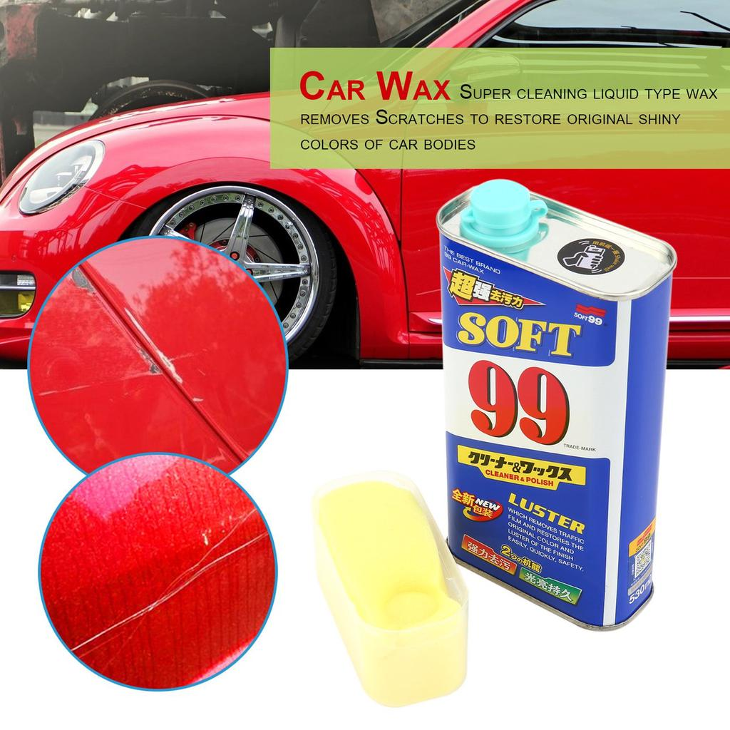 WOOT 530ml Car Liquid Wax Rectangular Polishing Auto Coating Scratches  Remove-buy at a low prices on Joom e-commerce platform