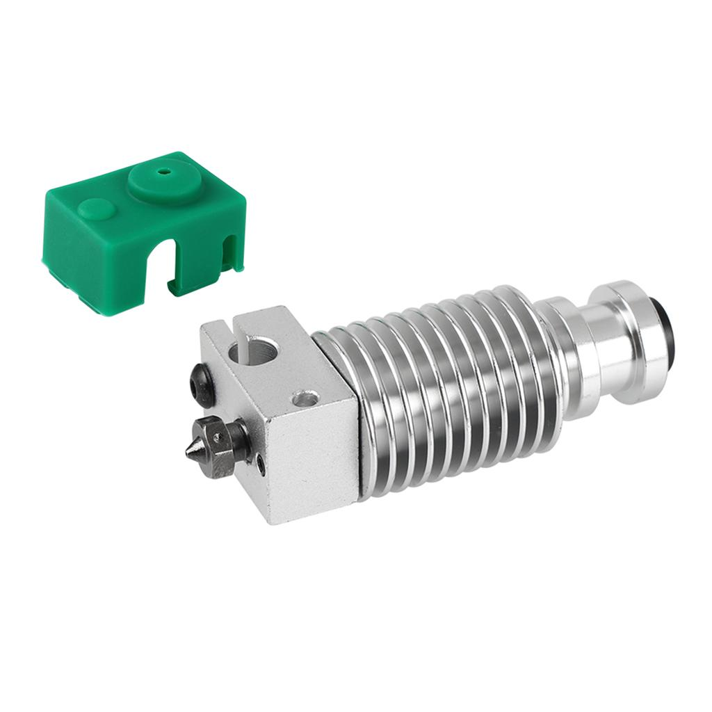 Aibecy Metal Hotend Extruder Kit with 0.4mm Nozzle Aluminum Heating Block Silicone Sock 12//24V 40W Compatible with Creality CR-10 CR-10S Ender 3 Ender 3 Pro 3D Printer