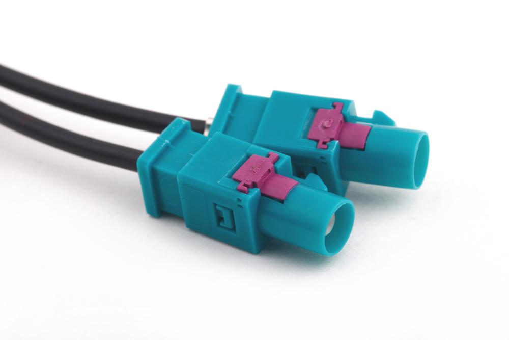 Auto Radio Stereo-Antenne Adapter führen Kabel Duell Fakra, DIN für ...