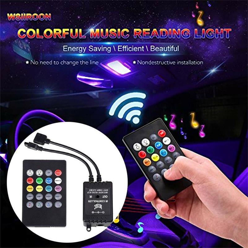 5M 10M 15m 5050 RGB LED Strip Light Music Sound Activated Remote 12V Power Kits