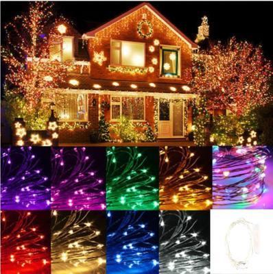 New 5//10//20M Warm White Fairy String Light Waterproof Party Xmas Wedding Decor