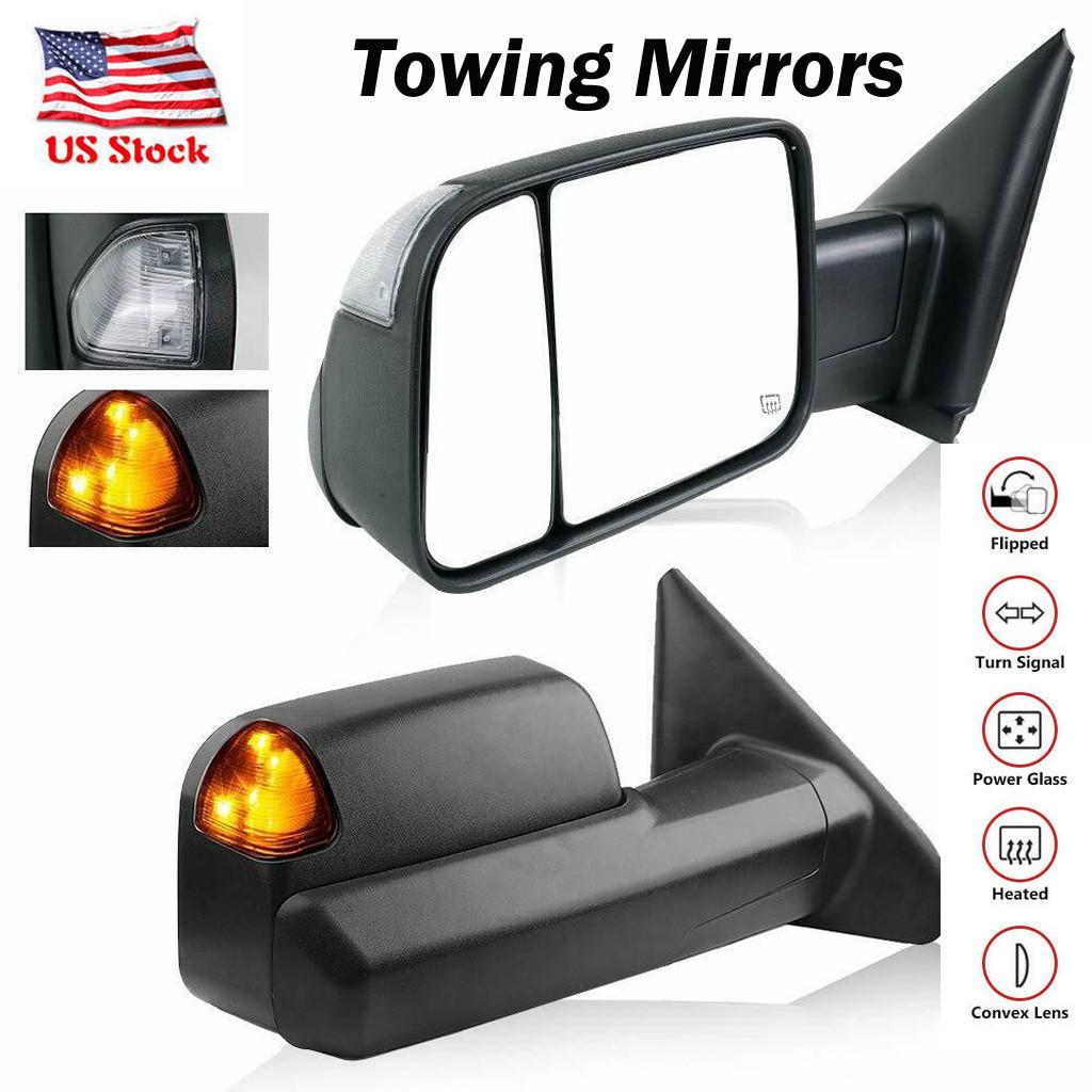 New CH1320228 Driver Side Heated Mirror For Dodge Ram 1500//2500//3500 2003-2009