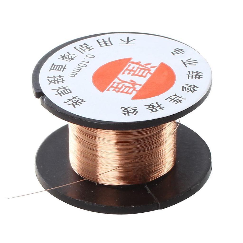 Huanghuang 0,1 Mm Durchmesser Kupfer Löten emaillierten Rolle Draht ...