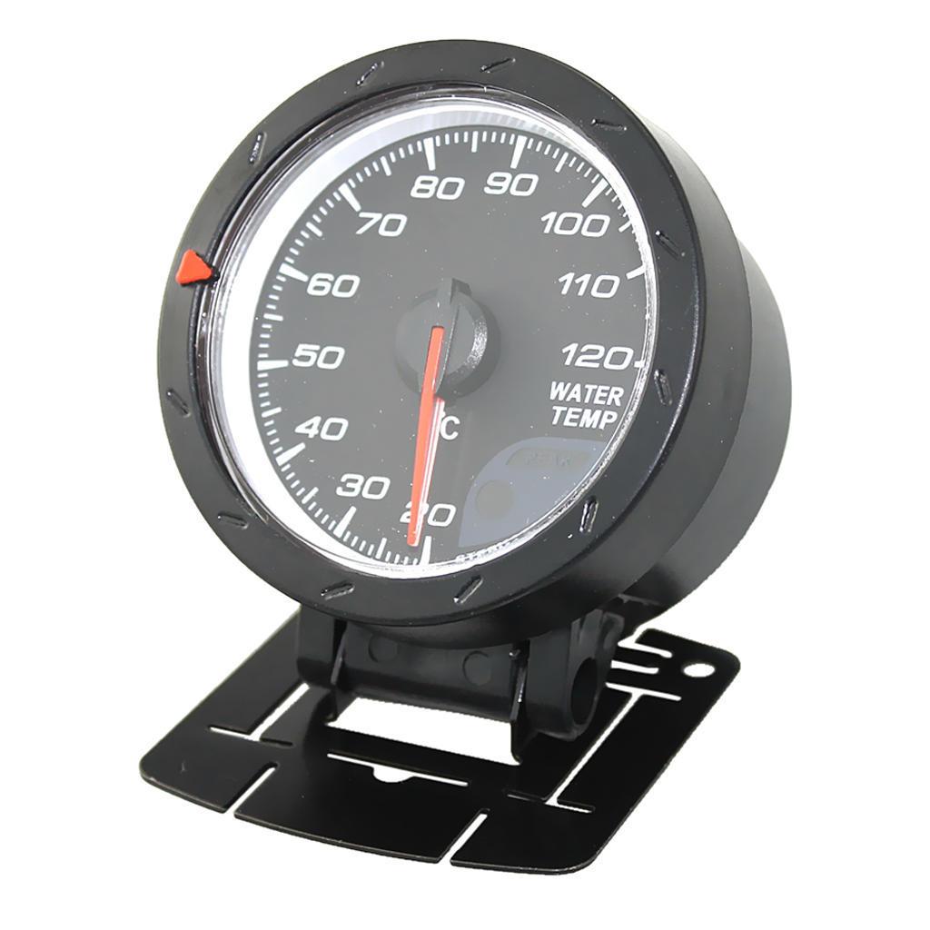MagiDeal 52mm Elektrische Digitale Wassertemperaturanzeige Sensor Auto Thermometer