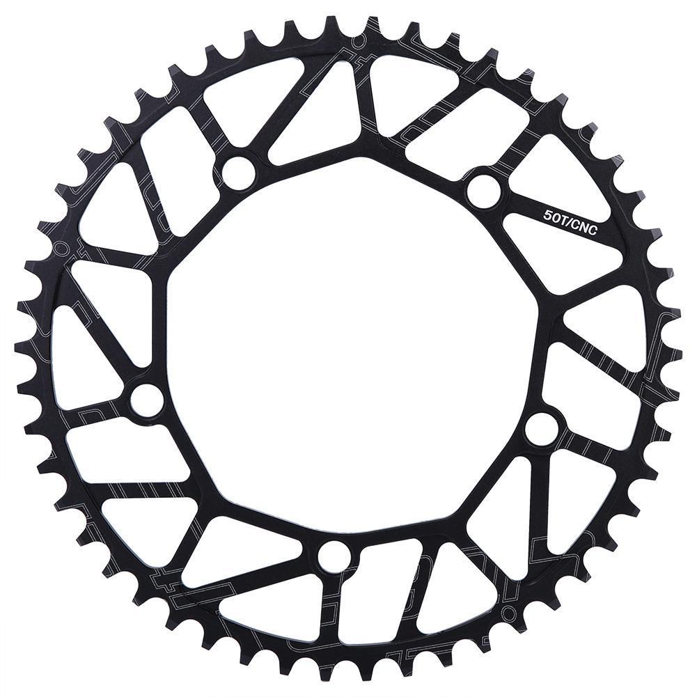 CNC Aluminum Alloy Bike Crankset Chainring 50//52//54//56//58T Crank Arms BCD130mm