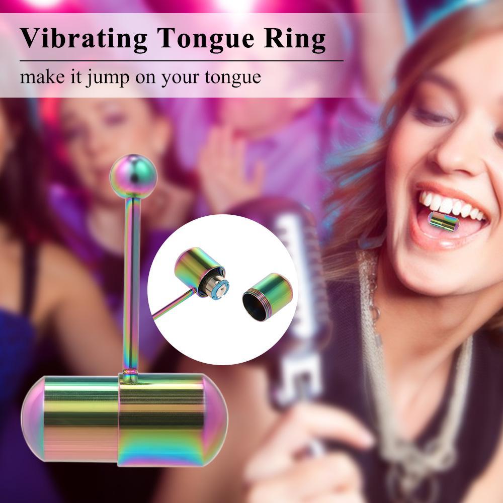 Vibrating tongue ring review