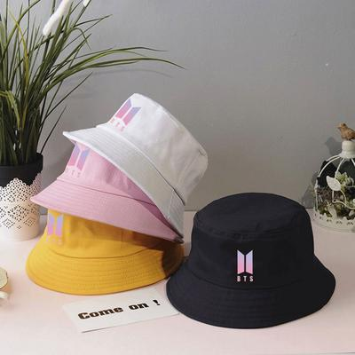 Personality Hat Adult Bts Casual Fisherman's Hat Fitted Casual Cap Outdoor Sun Shade Essential Hats