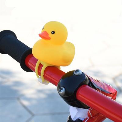Bicycle Light Small Yellow Duck Helmet Road Bell Riding Broken Helmet Random Hot