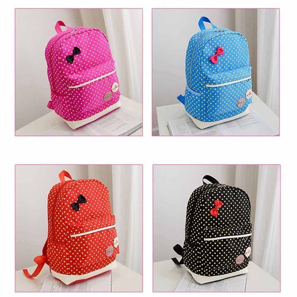 4ecb74e68949 3 шт набор детей Рюкзаки мило точек потенциала школы рюкзак школьный  портфель книги – купить по низким ценам в интернет-магазине Joom