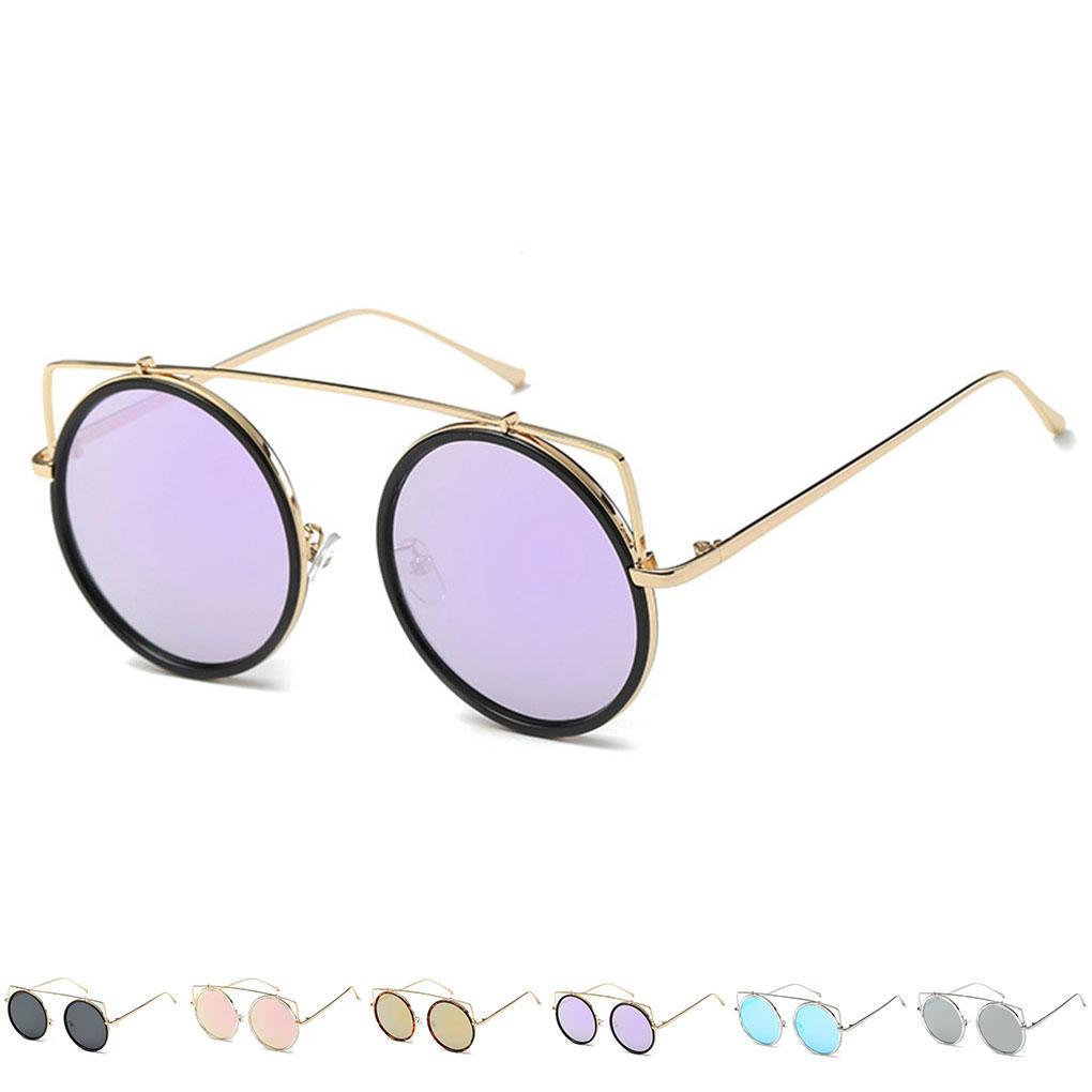 Lentes Gafas Anteojos marco Metal Retro los hombres sol gafas de sol ...