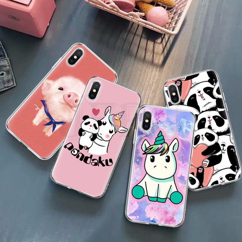 Единорог Окрашенные Мягкий Силиконовый TPU Ultra Тонкий мобильный телефон Дело для Huawei Samsung Xiaomi iPhone 11