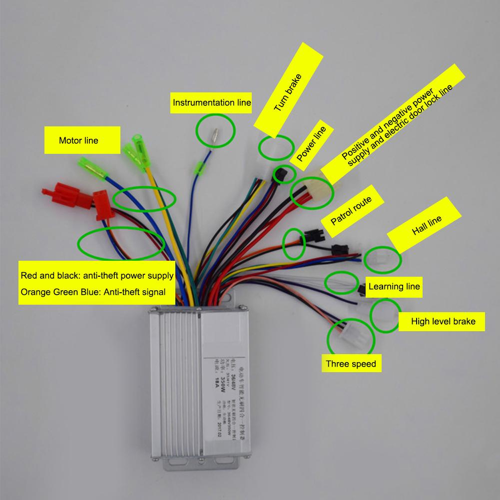 36V 48V 350W Electric Bicycle E-bike Scooter Brushless DC Motor  Controller-buy at a low prices on Joom e-commerce platformJoom