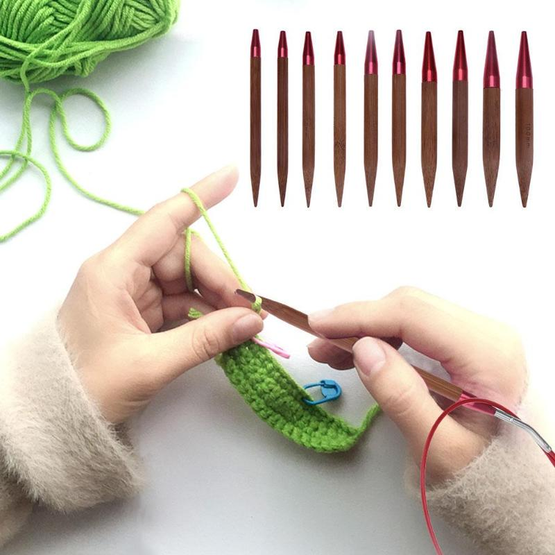 New Knitting Crochet Sweater Yarn Stitch Holder Aluminium Widget Needle Tools